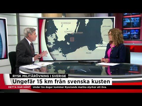 """""""Ryssland vill visa musklerna"""" - Nyheterna (TV4)"""