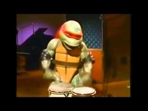 Le concert des tortues ninja youtube - Les nom des tortues ninja ...