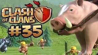 CLASH OF CLANS #35 - CLANKRIEG - GEGNER UNTERSCHÄTZT ★ Let's Play Clash of Clans