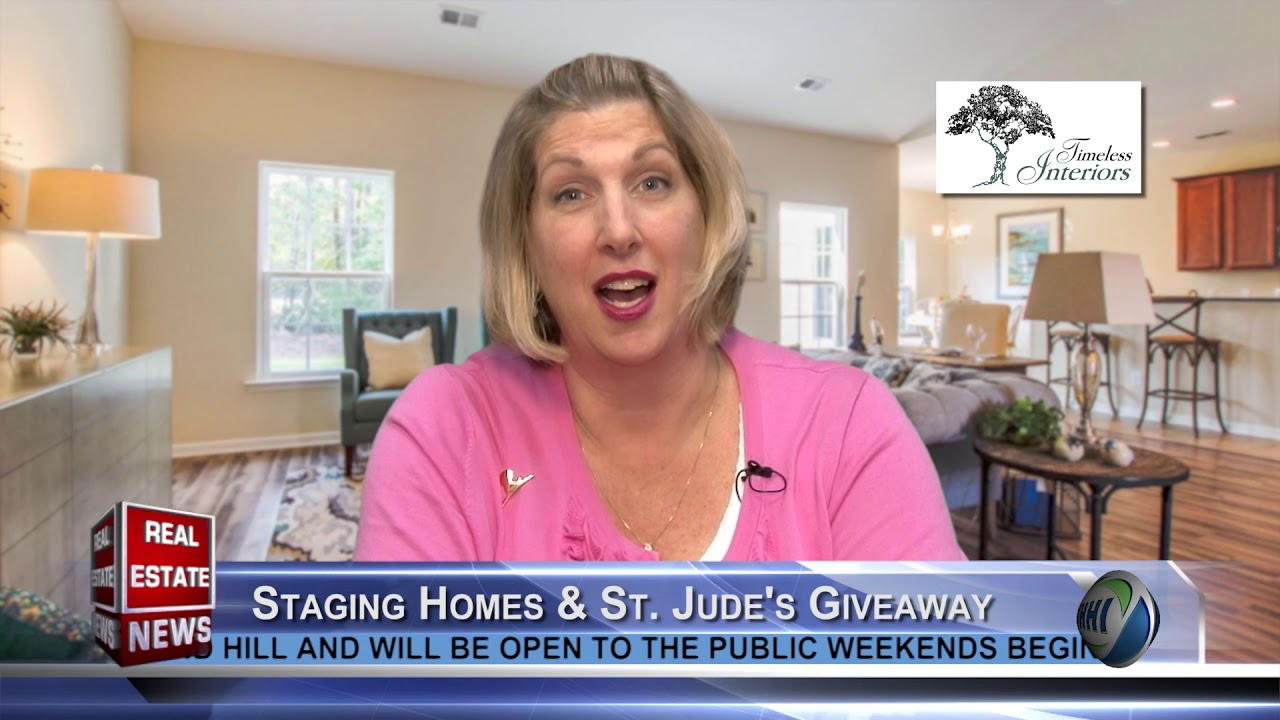 Real Estate News Morgan Allen Staging Homes St Jude S Giveaway Timeless Interiors Whhi Tv