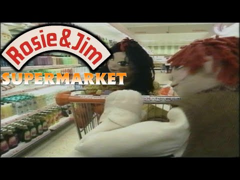 Rosie and Jim - Supermarket - John Cunliffe - 1990 thumbnail