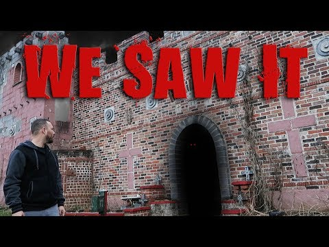 (WE SAW IT) HAUNTED CURSED CASTLE IN THE WOODS | OmarGoshTV