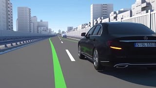 NAIAS 2016: Assistance systems in the new E-Class - Mercedes-Benz original
