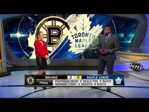 NHL On The Fly: Toronto vs Boston: Marner leads Maple Leafs to 4-2 win over the Bruins  Nov 26,  201