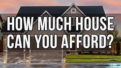 HOW MUCH HOUSE CAN YOU AFFORD | Home Affordability Spreadsheet