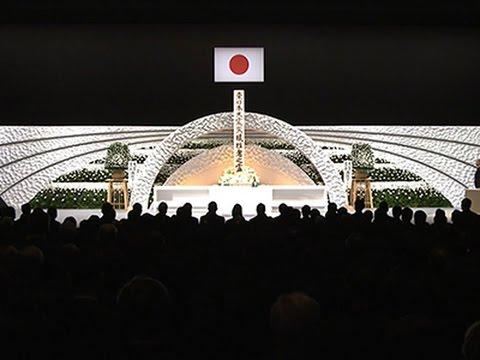Raw: Japan Marks 4th Anniversary of Tsunami