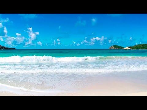 Relaxing Tropical Beach and Guitar Music