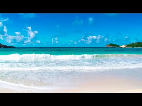 Relaxing Tropical Beach and Guitar Music