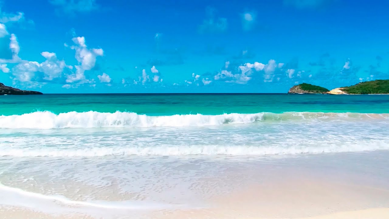 relaxing tropical beach and guitar music - youtube