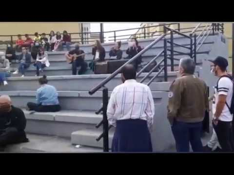 Concentración en Sarria en contra das agresións machistas