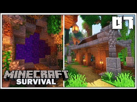 NEW HORSE STABLE & NETHER PORTAL!!! ► Episode 7 ►  Minecraft 1.14 Survival Let's Play