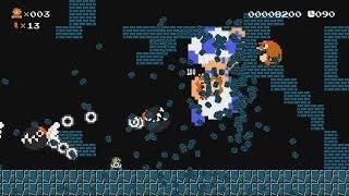 Mario Multiverse | Custom Level: Mega Toad Dash (SMB1 LEVEL)