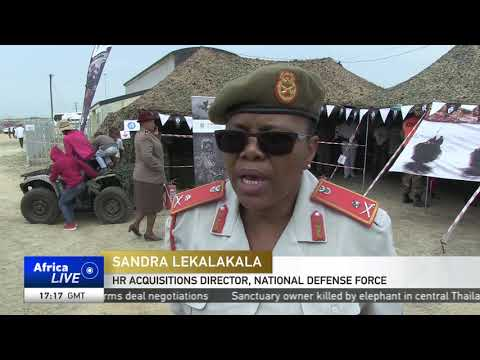 South Africa's military display hardware ahead of annual event