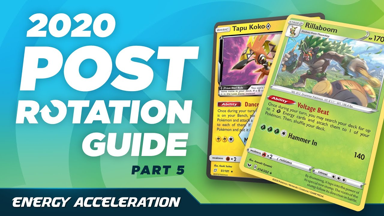 What Survives the 2020-2021 Rotation? Energy Acceleration (Pokemon TCG)