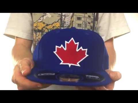 1a04d020e66 Blue Jays  MLB DIAMOND ERA  59FIFTY Royal BP Hat by New Era - YouTube