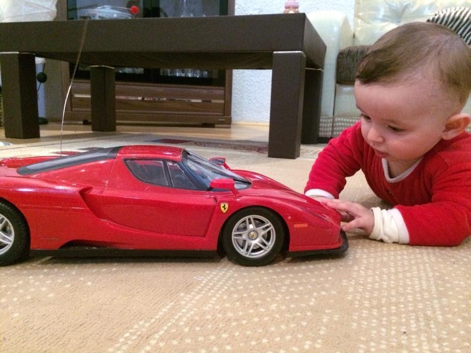 Tutitu Ferrari Enzo Real Car Baby Playing Youtube