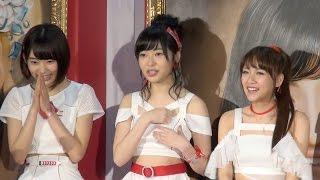 HKT48指原莉乃が、2日、東京・外神田のアーツ千代田3331で行われた「AKB48総選挙ミュージアム」のオープニングセレモニーに出席した。