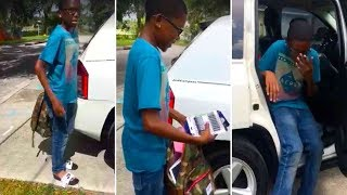 This Boy Worked All Summer To Raise Money For School. Then The Community Decided To Step In