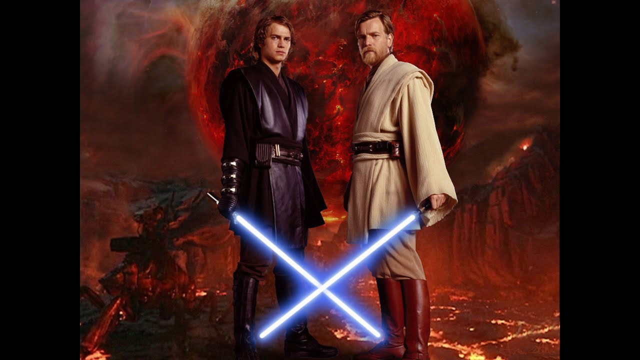 Star wars anakin skywalker obi wan kenobi tribute youtube - Vaisseau star wars anakin ...