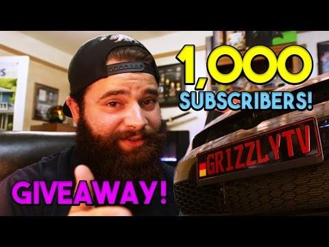 1,000 SUBSCRIBER GIVEAWAY! | MK7 GTI EURO PLATE INSTALL