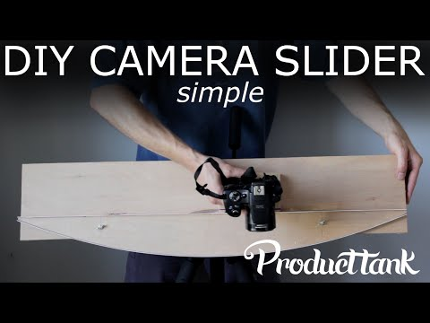 Build Yourself a Camera Slider That Uses a Guide Rail and Friction