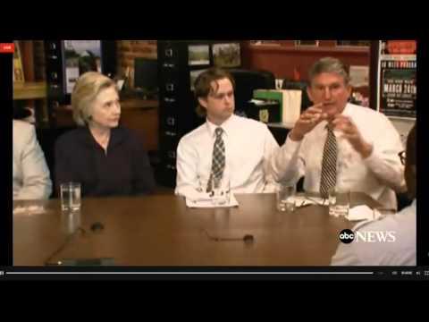 WV Coal Worker To Joe Manchin: Supporting Clinton Hurts You