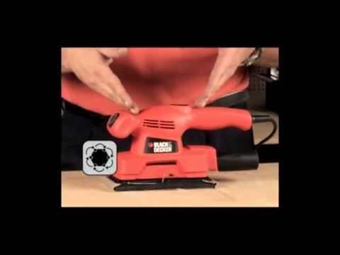 Black & Decker - Lixadeira CD 450