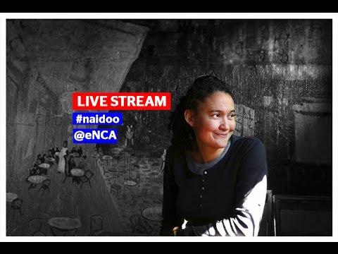 Leigh-Ann Naidoo back home