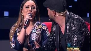 أغنية رومانسية تجمع بين كوثر براني وخطيبها  في رشيد شو