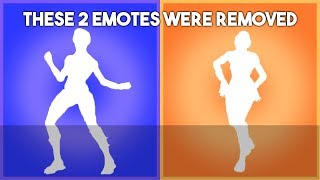 These Fortnite Emotes were removed for no reason...