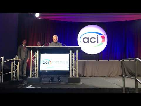 Dr. S. K. Manjekar Receiving ACI'S Honorary Member Award At Salt Lake City, Utah on 25 March 2018