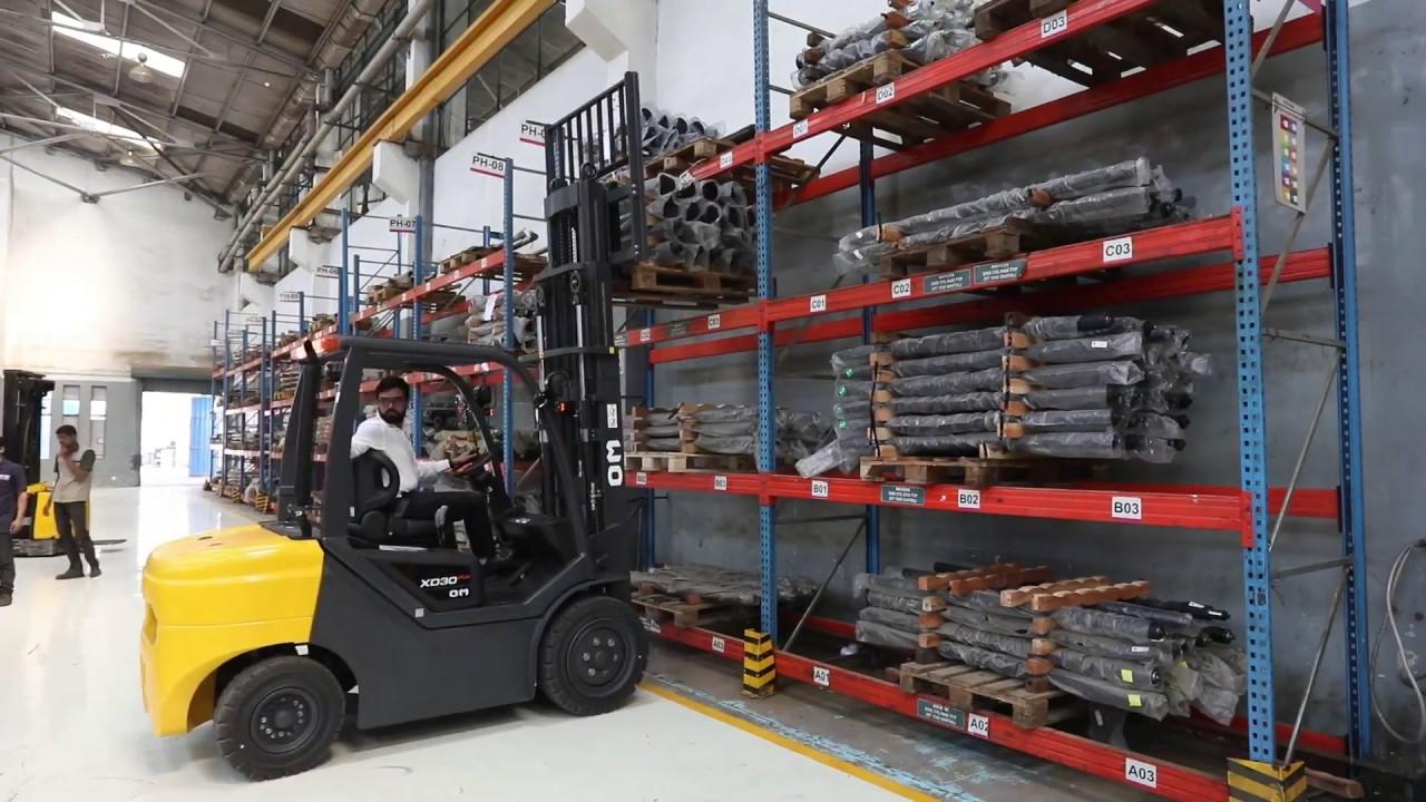 Voltas Material Handling Equipment | Forklift | Warehousing