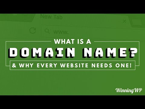 What Is A Domain Name? And Why Every Site Needs One: Explained!