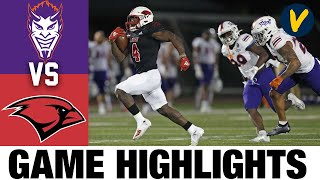 Northwestern State vs #14 UIW Highlights | FCS 2021 Spring College Football Highlights
