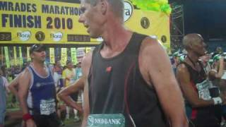 Arrival Of The 12 Hour Bus At Comrades 2010