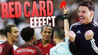 GETTING A RED CARD IN A MATCH?!?