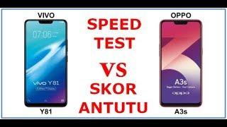 OPPO A3S VS VIVO Y81 SPEEDTEST & SKOR ANTUTU