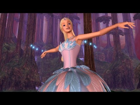 Barbie of Swan Lake - Odette receives a dance lesson from the Fairy Queen