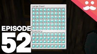Hermitcraft 4: Episode 52 - Getting STACKS of Diamonds!