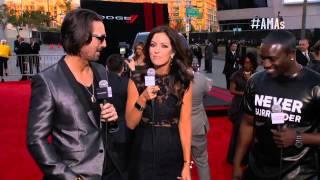 Akon Red Carpet Interview - AMAs 2013