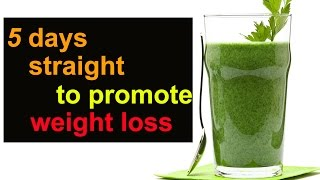 Fat Cutter Drink | 5 Days Straight To Promote Weight Loss | Corriander Juice