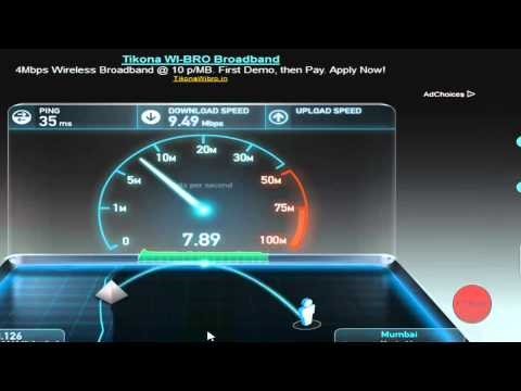 Internet Speed Test 10 mbps