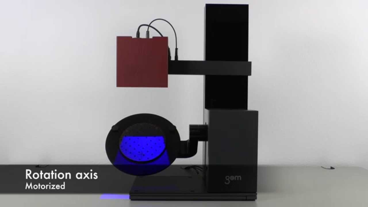 ATOS Core ScanPort - 3 Motorized and 3 Manual Axes Solution for Automated  3D Scanning and Inspection