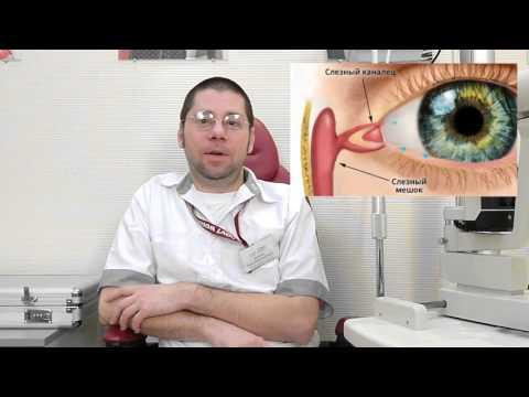 Лечение слезотечения из глаз народными средствами-Лечение