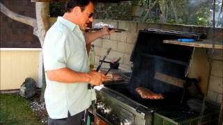 Santa Maria Style Tritip With Flair With Grill Chef Joe Svezia  (episode 348)