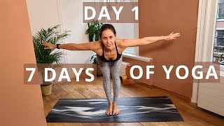 Sun Salutations | Create Your Home Yoga Practice Routine // Day 1 of Seven Days of Yoga