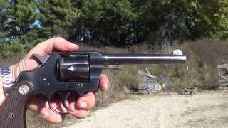 Colt Army Special 32-20 Revolver Made 1926