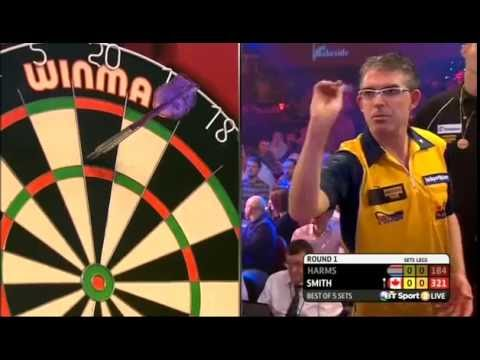 Darts World Championship 2015 Round 1 Harms vs J Smith