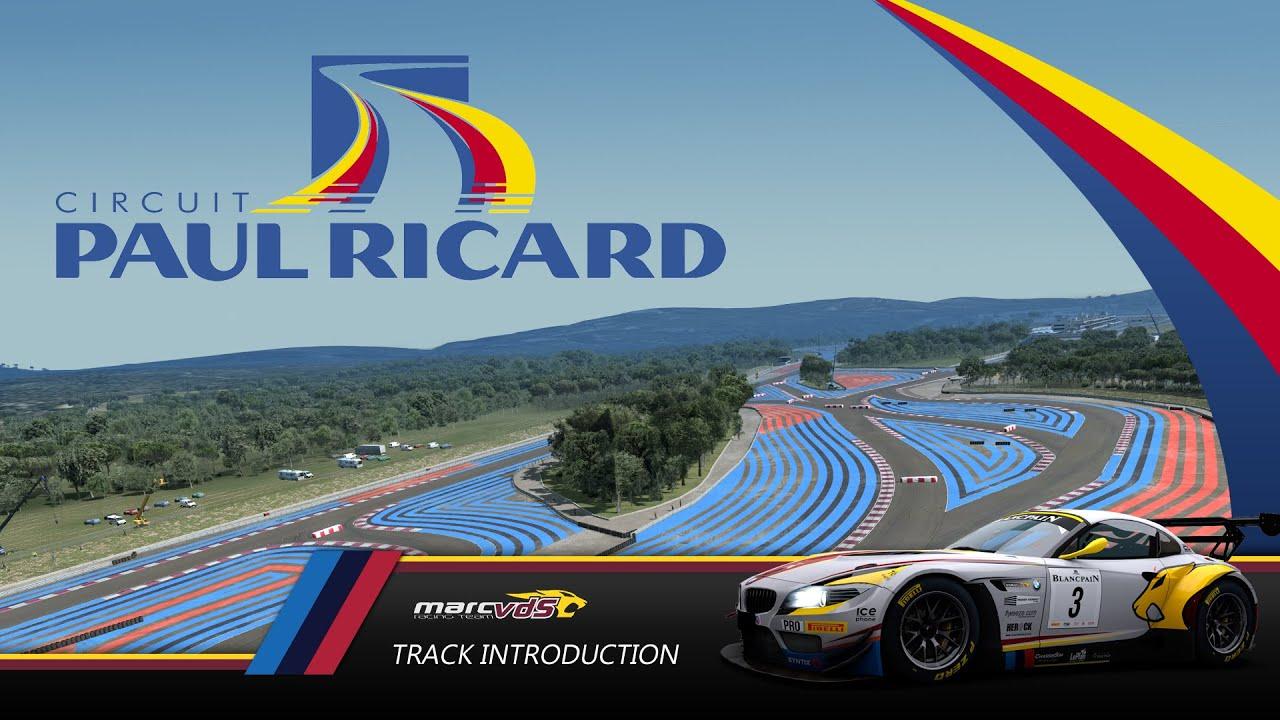 Raceroom Circuit Paul Ricard Youtube