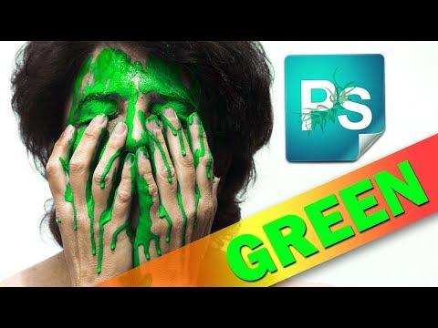 3 способа убрать зелень с лица. Локальная цветокоррекция в Фотошоп